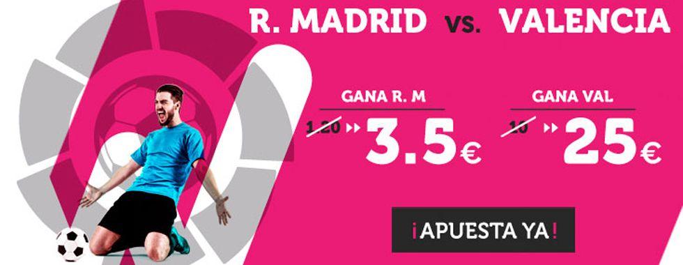 Previa y apuestas: Real Madrid vs Valencia