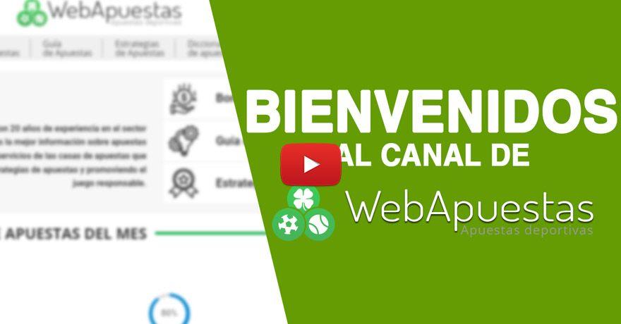 Webapuestas video de bienvenida