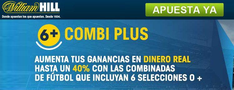 Nueva promoción Combi Plus de William Hill