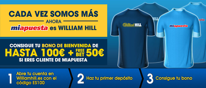 William Hill compra la casa de apuestas Miapuesta