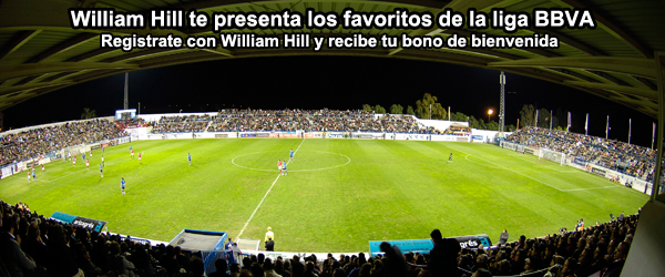 William Hill te presenta los favoritos de la liga BBVA