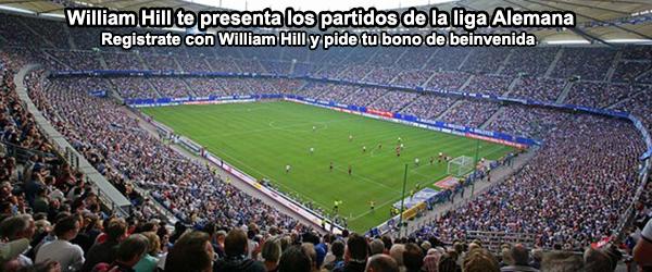 William Hill te presenta los partidos de la liga Alemana