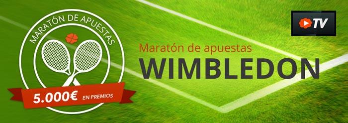 Luckia presenta el nuevo Maratón de Wimbledon